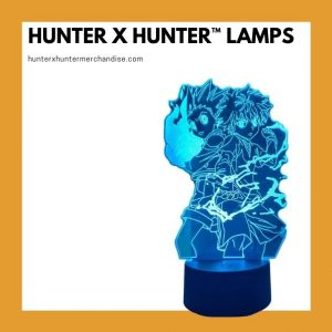 Hunter X Hunter Lamps